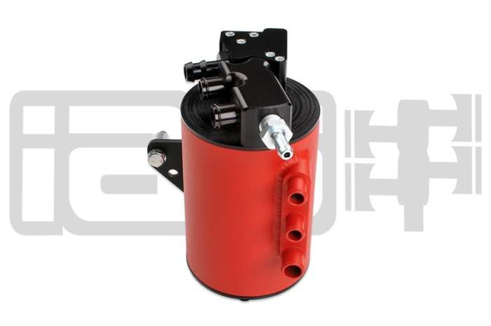 IAG Performance IAG-ENG-7150RD Red Street Series AOS Air Oil Separator 2006-07 Subaru Impreza WRX & 2004-07 STI