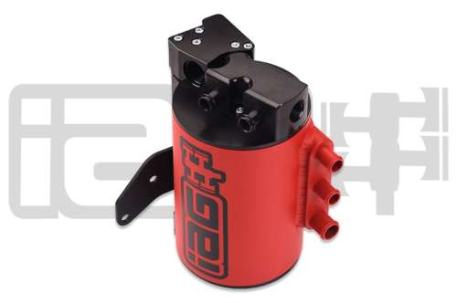 IAG Performance IAG-ENG-7151RD Red Street Series AOS Air Oil Separator Subaru Impreza 2008-14 WRX & 2008-18 STI
